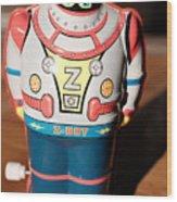 Z-bot Robot Toy Wood Print