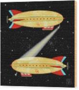 Z Is For Zeppelin Wood Print
