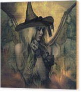 A Witch's Soul Does Never Die Wood Print