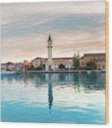 Zaante Town, Zakinthos Wood Print