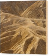 Zabriskie Morning Wood Print