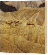 Zabriskie Point, Death Valley Wood Print