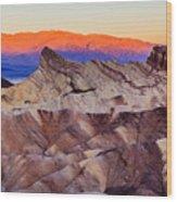Zabriskie Point Wood Print