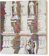 Zacatecas Cathedral Wood Print