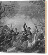 Zachary Taylor , 1784-1850 Wood Print