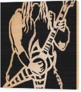 Zakk Wylde Wood Print