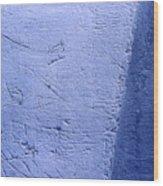 Zambonied Ice Wood Print