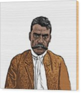 Zapata Wood Print