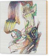 Zappa Baton Wood Print
