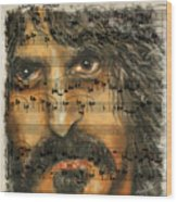 Zappa The Walz  Wood Print