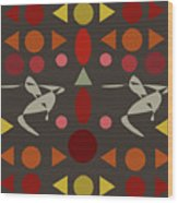 Zappwaits Dance Wood Print