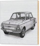 Zaz-966 Zaporozhets Wood Print