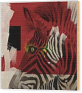 Zebra 4.0 Wood Print