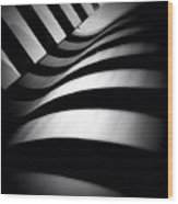Zebra City - Concrete Jungle Wood Print