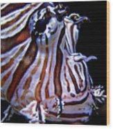 Zebra Fish Wood Print