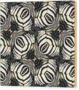 Zebra IIi Wood Print