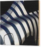 Zebra Motors Wood Print