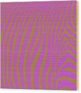 Zebra Shmebra Wood Print