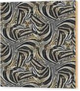 Zebra Vii Wood Print