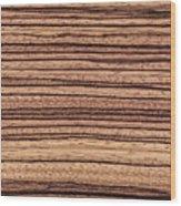 Zebrawood - Natural Abstract Wood Print
