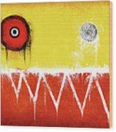 Zeeko Abstract #104 Wood Print