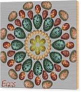 Zeerkl Of Eggs Wood Print