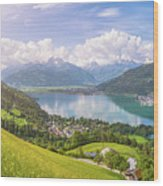 Zell Am See - Alpine Beauty Wood Print