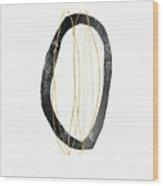 Zen Modern Art 6- Art By Linda Woods Wood Print