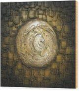Zen Moon Wood Print