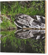 Zen Pool Wood Print