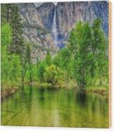 Zen River Wood Print