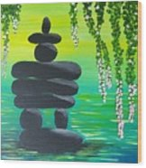 Zen Time Wood Print