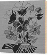 Zentangle 16-01 Wood Print