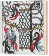 Zentangle Inspired I #1 Wood Print