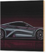 Zenvo St1 2009 Painting Wood Print