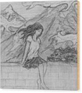 Zephyr Wood Print