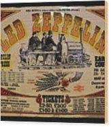 Zeppelin Express Wood Print