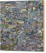 Zermatt From Klein Matterhorn Wood Print