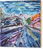 Zermatt Or Cervinia Wood Print