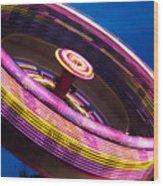 Zero Gravity Spin Wood Print