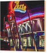 Zestos Wood Print by Corky Willis Atlanta Photography