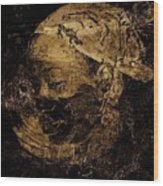 Zilla Wood Print