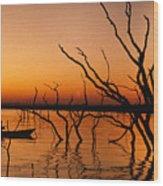 Zimbabwe Sunset Wood Print