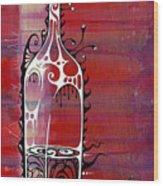 Zinfandel Wood Print