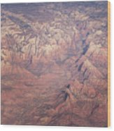 Zion From The Air Wood Print