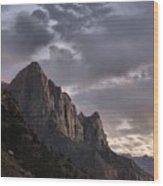 Zion Mountain #2 Wood Print