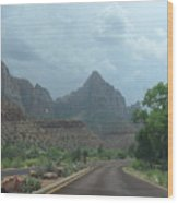 Zion National Park 1 Wood Print