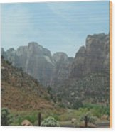 Zion National Park 3 Wood Print