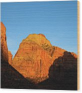 Zion National Park, Utah Wood Print
