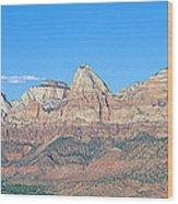 Zion National Park, Valley View Wood Print